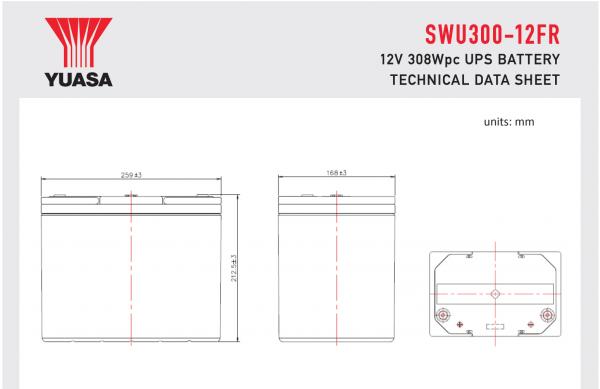 SWU300-12FR Diagram