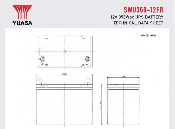 SWU360-12FR Diagram
