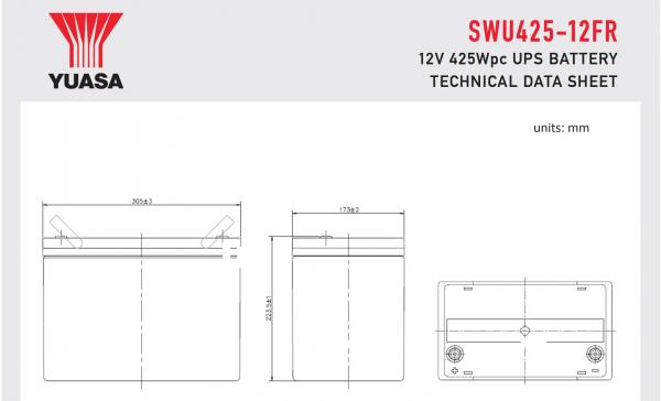 SWU425-12FR Diagram