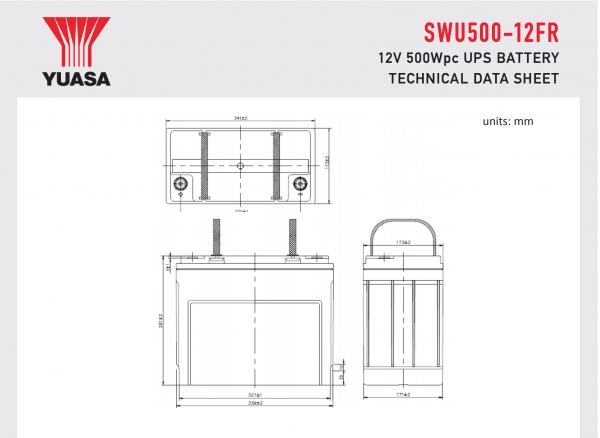 SWU500-12FR Diagram