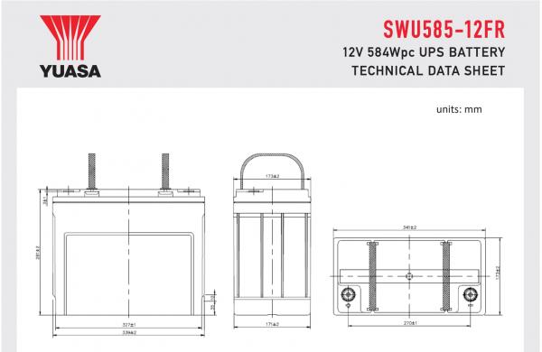 SWU585-12FR Diagram